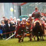 Reitershow Xanten, römische Reiterei, NGW-Fest