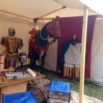 Römische Reiterei - Museumszelt